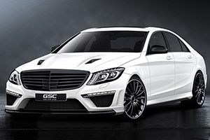 German Special Customs Previews its new W222 S-Class Program