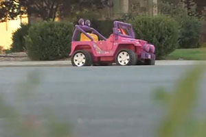 Friday FAIL: Where Police Ticket Barbie Jeeps