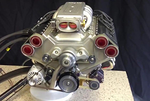 45 cc mini v8