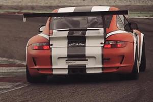 Slow-Motion Italian Raceway