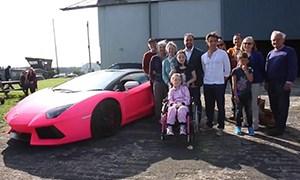 Richard Hammond Pink Lamborghini Charity
