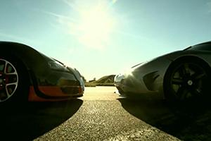 Bugatti Veyron vs Koenigsegg Agera R