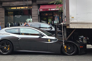 Ferrari FF Run Over