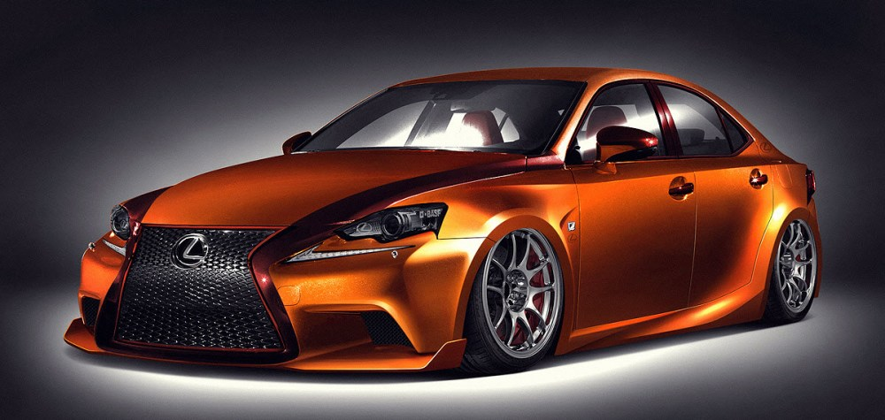 2014 IS 250 F SPORT by Paul Tolson and Gabriel Escobedo