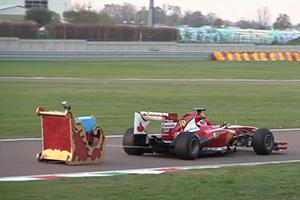 Ferrari Santa Sleigh