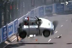 Aussie V8 Supercars Crash