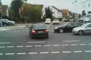 BMW Driver Douchebag Crash