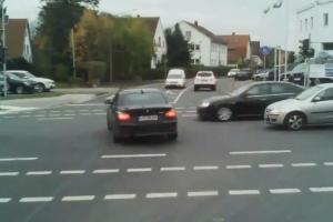 BMW Driver Douchebag Crash