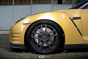 Nissan GT-R w/D2Forged CV08 Deep Concave