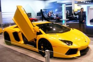Exotics at the Chicago Auto Show