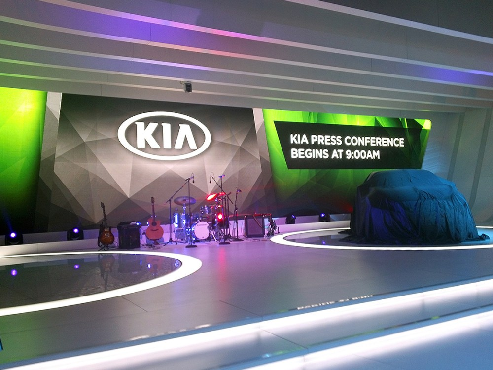 Kia at the 2014 Chicago Auto Show
