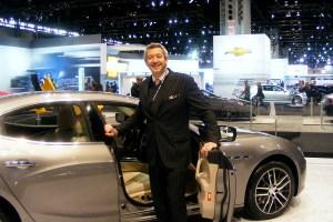 Maserati at the Chicago Auto Show