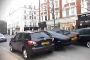 Lamborghini London Crash