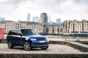 A Kahn Design Bali Blue Range Rover 600-LE