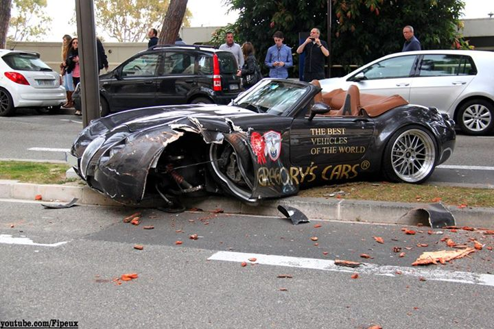 Wiesmann Crash