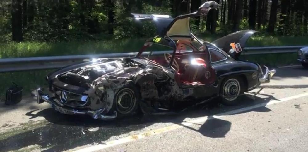 Mercedes-Benz 300SL Crash Mille Miglia