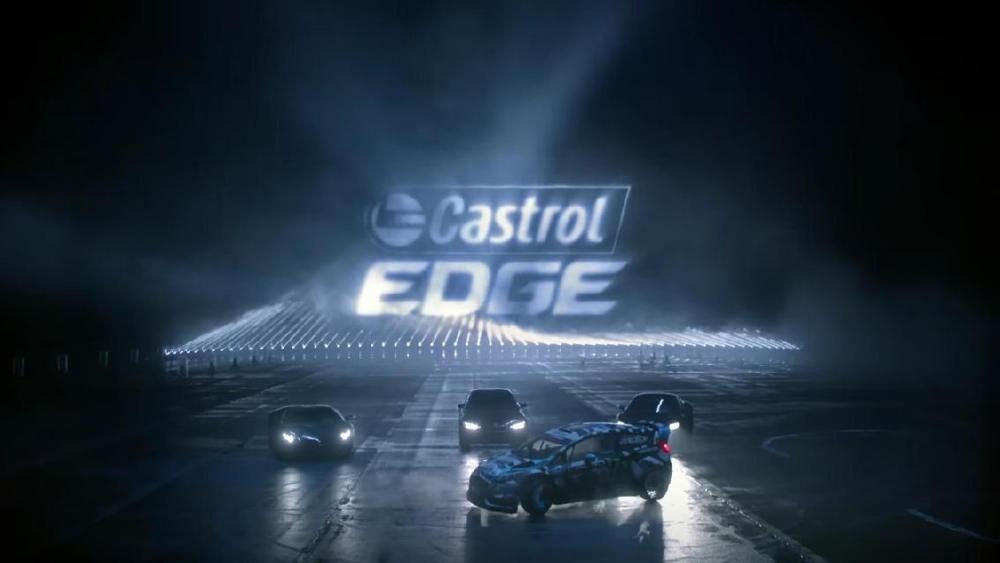 Laser Driving Castrol