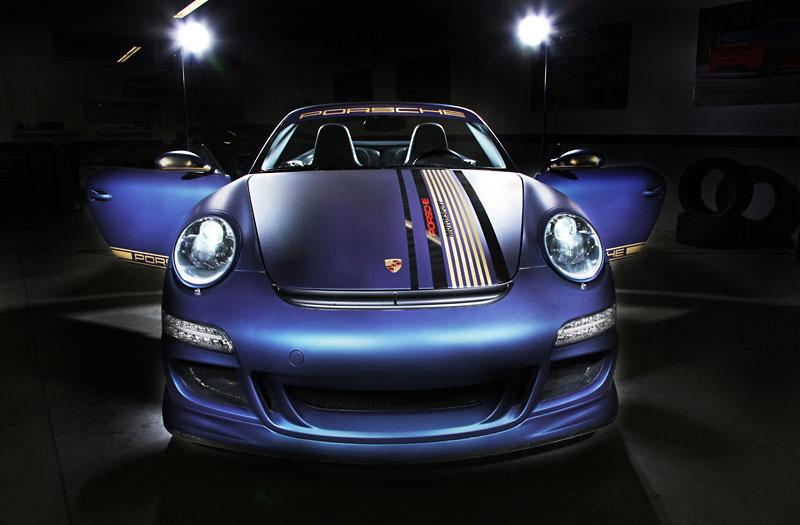 Cam Shaft Matte Sapphire Porsche 911 Cabriolet