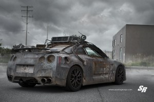 Elysium Nissan GT-R PUR 2WO Wheels