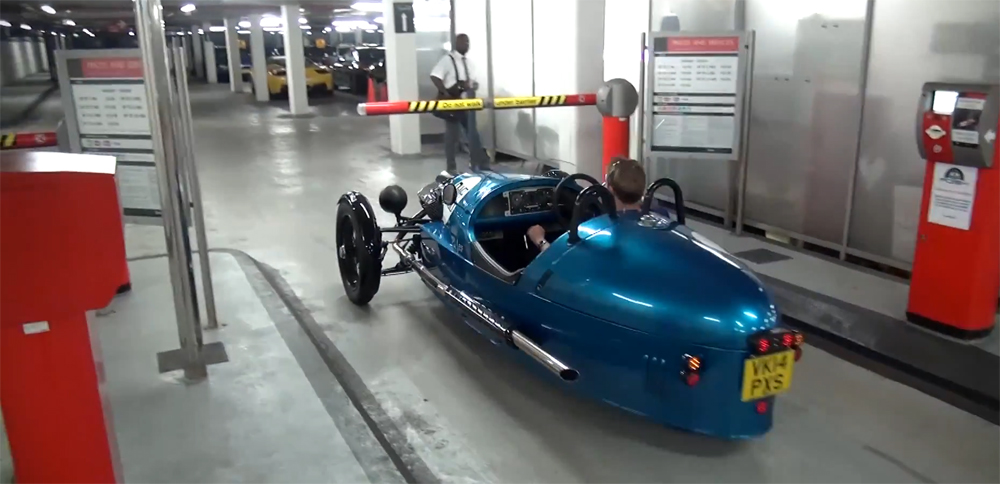 Low Morgan 3 Wheeler