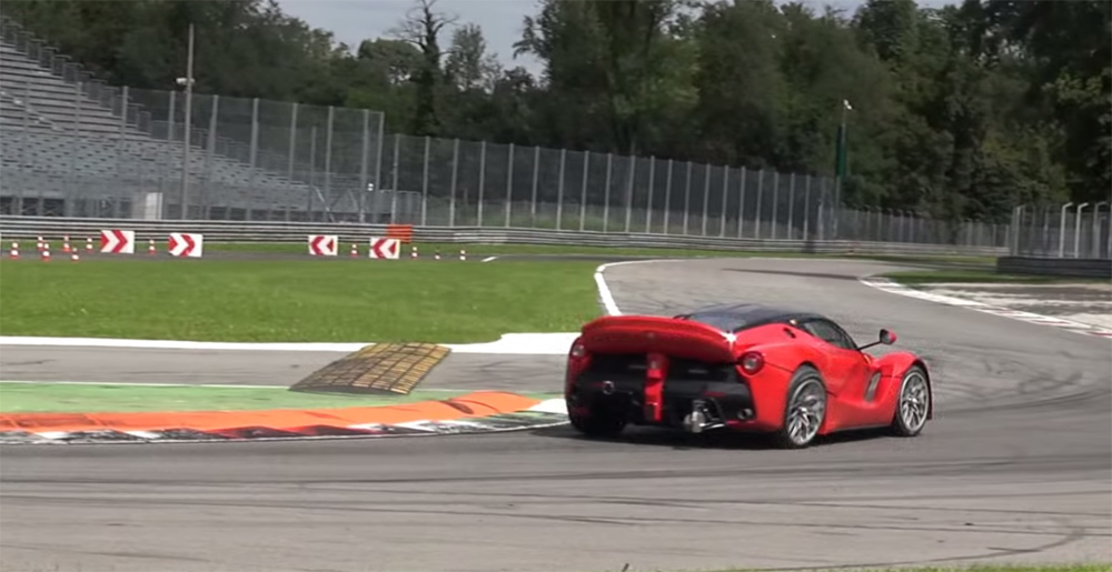 Ferrari LaFerrari XX Suspension Break