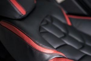 A Kahn Design Herringbone Soft Leather Interior