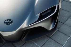 Graphite Toyota FT-1 Concept