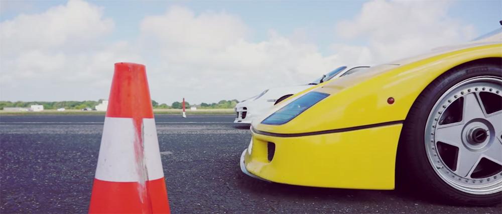 Hypercar Drag Race