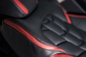 Herringbone Soft Leather Interior