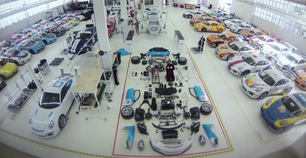 Porsche 911 GT3 Cup Assembly