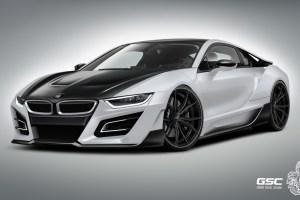 German Special Customs BMW i8 iTron