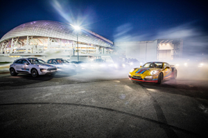 Porsche Martini Sochi