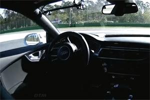 Driverless Audi Rs 7
