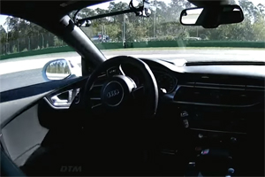 Driverless Audi Rs 7