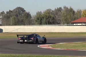 Pagani Zonda R Evolution Track Exhaust