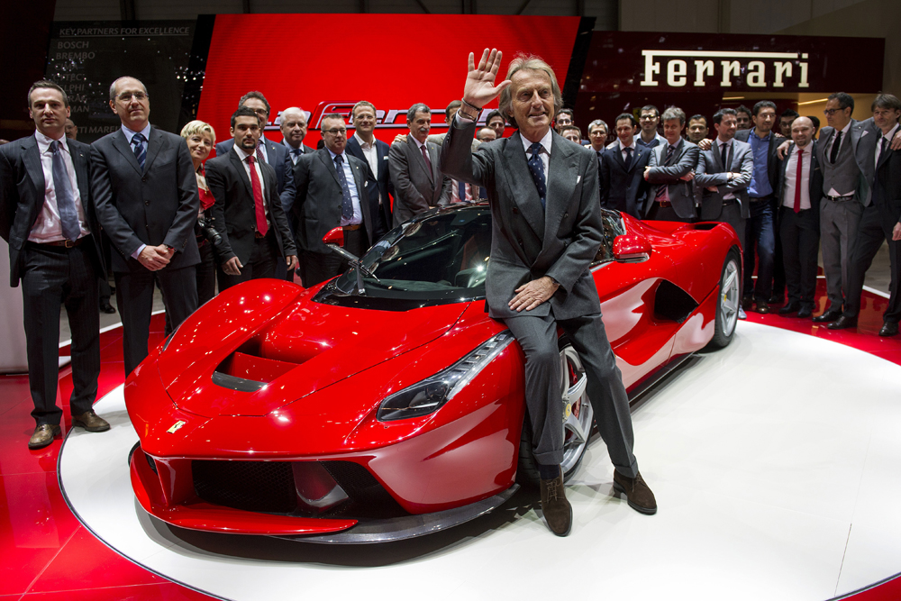 Ferrari car launch