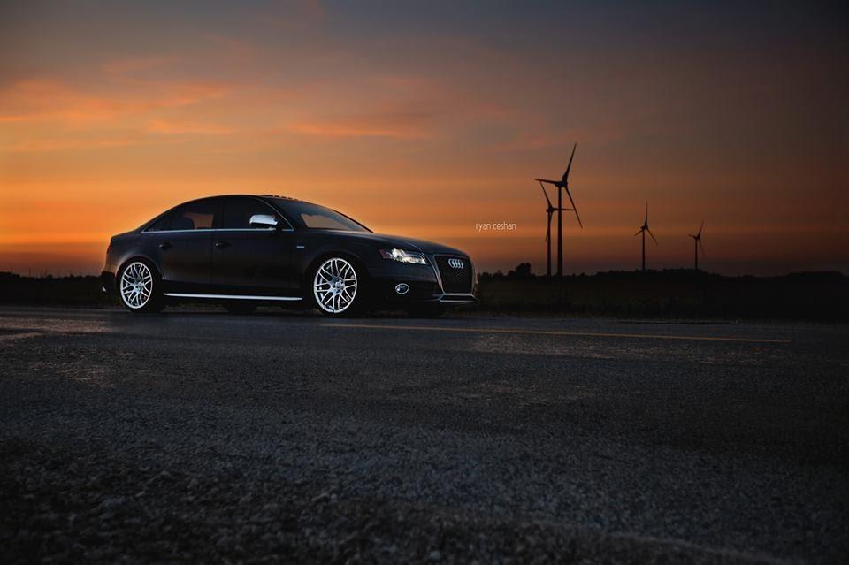 B8 Audi S4 World Record
