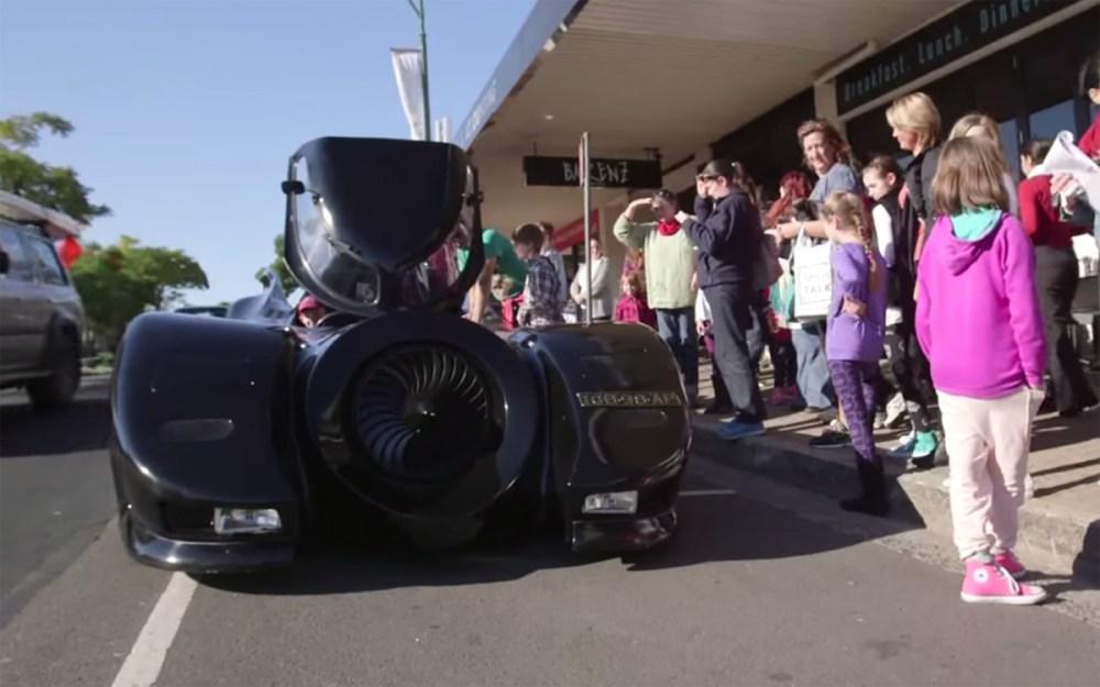 Make a Wish Batmobile