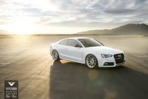 Audi S5 with Vorsteiner V-FF 102 Flow Forged Wheels