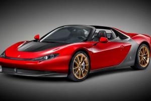 Ferrari Sergio by Pininfarina