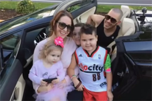 Supercars for sick kids
