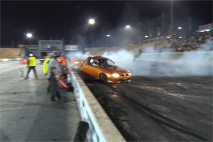 Holden burnout FAIL