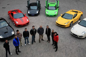Chinese Kids Driving Supercars-sm