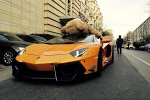 DMC Lamborhgini Aventador Teddy BearDMC Lamborhgini Aventador Teddy Bear