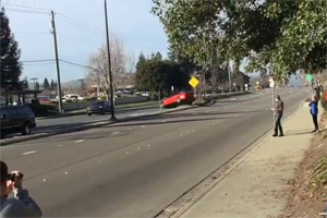 BMW M4 Cars and Coffee Crash