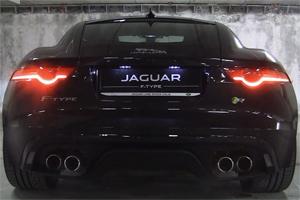 Jaguar F-Type R Coupe Exhaust Note