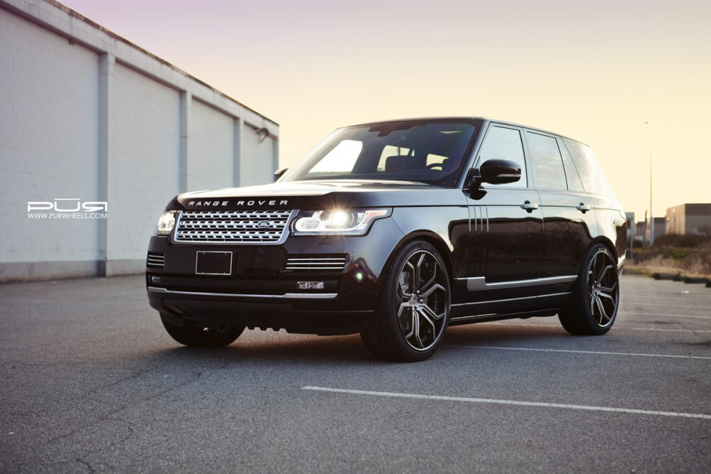 Range Rover Vogue Supercharged PUR LX10 Forged Wheels