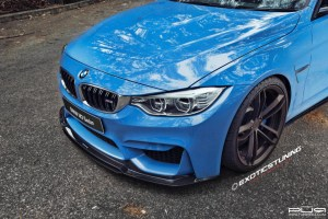 F80 BMW M3 with PUR RS07 Forged Wheels