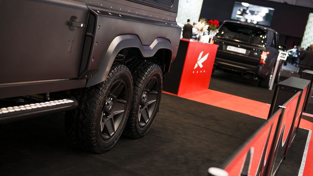 Kahn Flying Huntsman 6x6 Concept