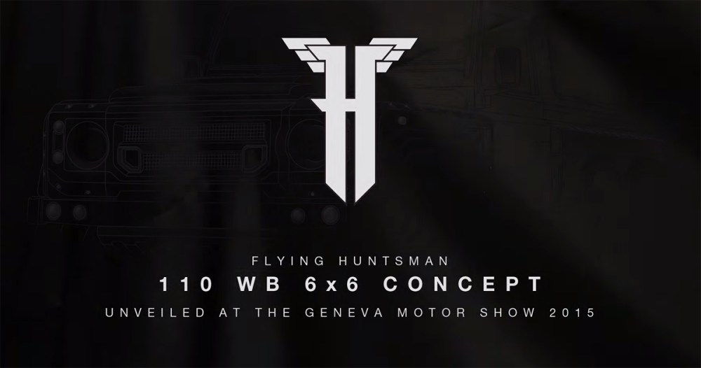 Flying Huntsman 110 WB 6x6 Concept